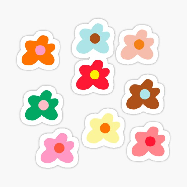Golf le fleur fleur design Sticker
