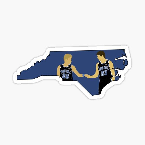 One Tree Hill (North Carolina outline) Sticker