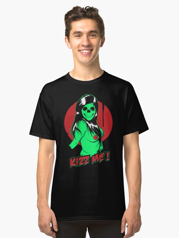 Alternate view of Kizz Me ! Classic T-Shirt