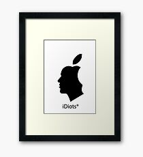 deGeneration Apple Framed Print