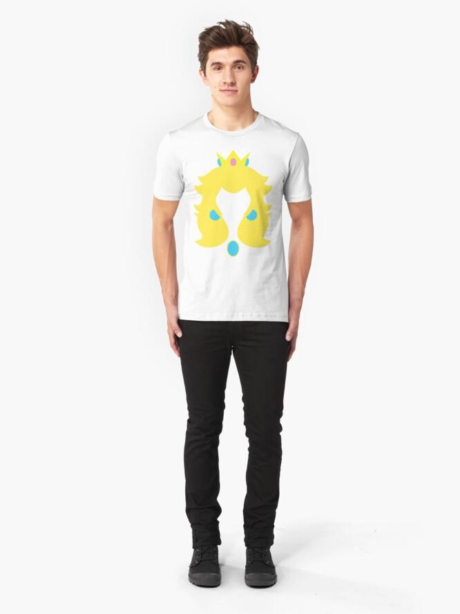 Alternate view of Peach Slim Fit T-Shirt