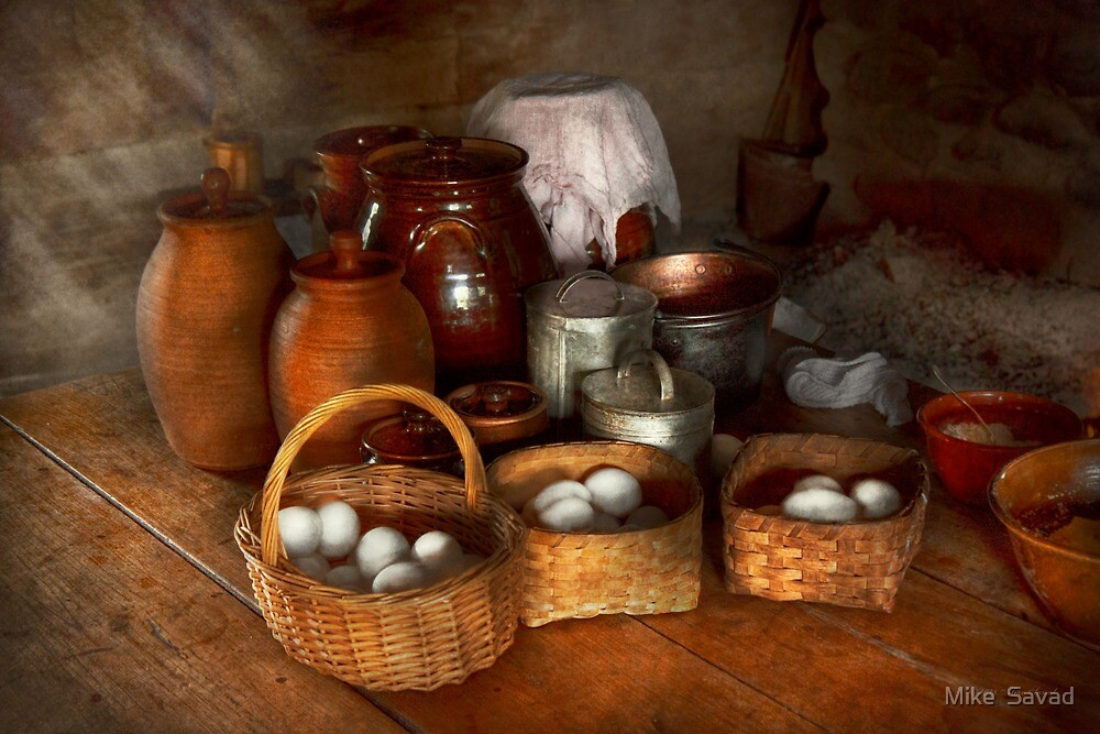 Food - Eggs - Country breakfast  by Michael Savad