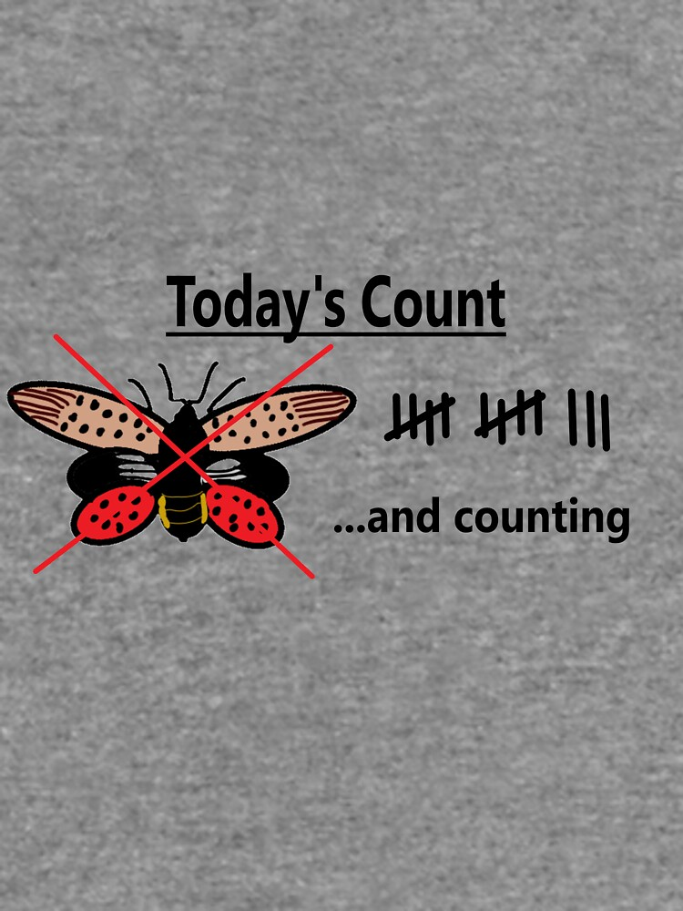 Today's Count of Lanternfly by cait1994