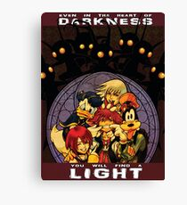 Kingdom Hearts - Propaganda Canvas Print