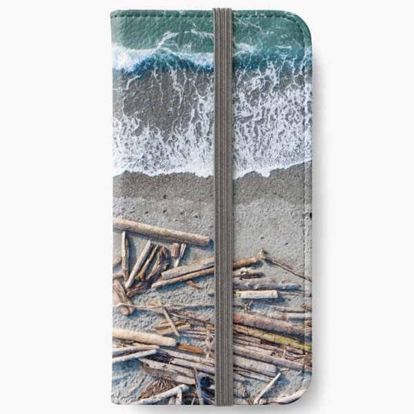 PNW Beach Day iPhone Wallet