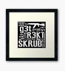 Counter Strike Global Offensive  Framed Print