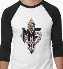 Memphis May Fire Logo! Men's Baseball ¾ T-Shirt