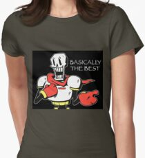 Papyrus from Undertale Womens Fitted T-Shirt