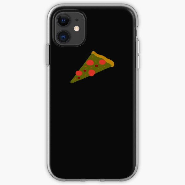 pizza-pizza with pepperoni  / a food  cute tshirt iPhone Soft Case