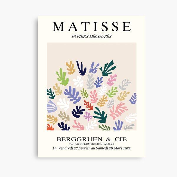 Henri Matisse - The Sheaf - Matisse Prints Canvas Print