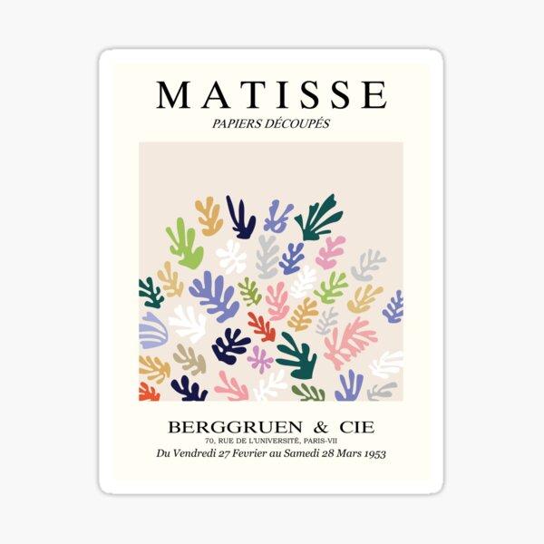 Henri Matisse - The Sheaf - Matisse Prints Sticker