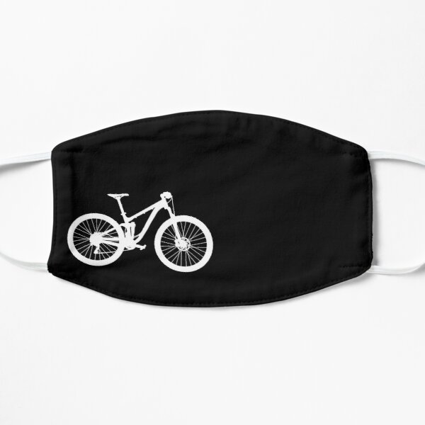 Full suspension mountain bike - MTB silhouette Mask