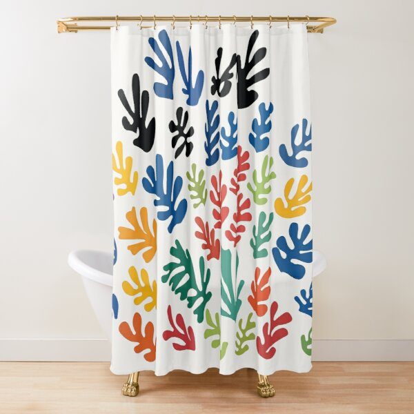 Henri Matisse - La gerbe - The Sheaf - HM Shower Curtain