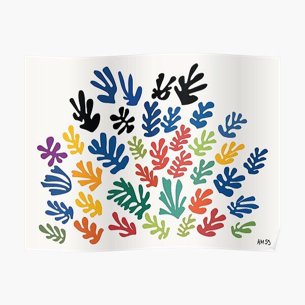 Henri Matisse - La gerbe - La gavilla - HM Póster