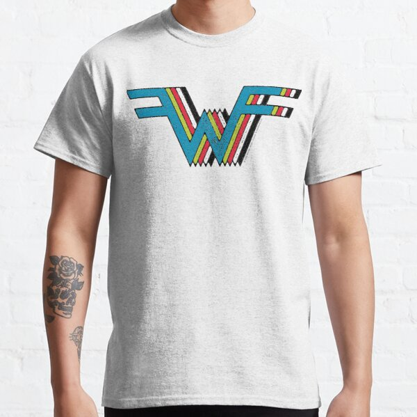 Weezer - The Blue/Green/Red/White/Black Album Classic T-Shirt