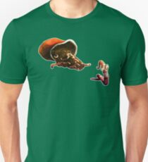 Earth Worm Jim making his big escape T-Shirt
