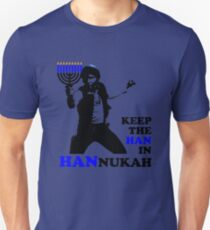 Keep the Han in Hannukah Unisex T-Shirt