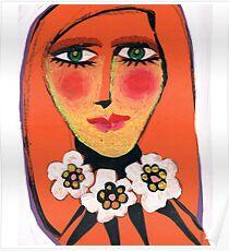 Serene Sienna Poster