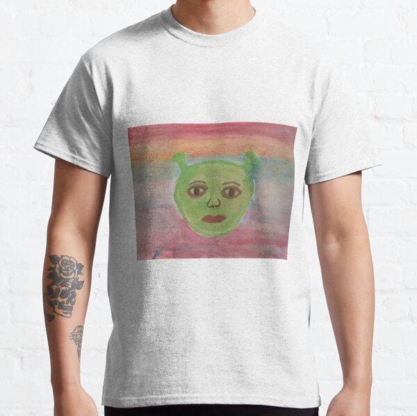 Water Color image of Shrek Classic T-Shirt