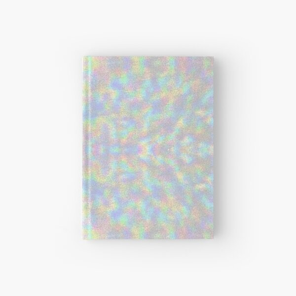 Fuzzy Iridescent Hardcover Journal