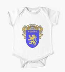 McDaniel Coat of Arms/Family Crest One Piece - Short Sleeve