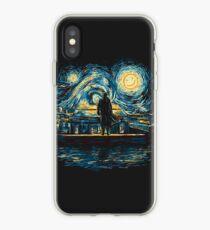 Starry Fall (Sherlock) iPhone Case