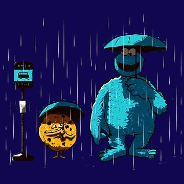 Totoro Neighbor Rain by RemiBeng