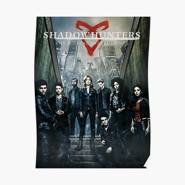 Personnages de Shadowhunters Poster