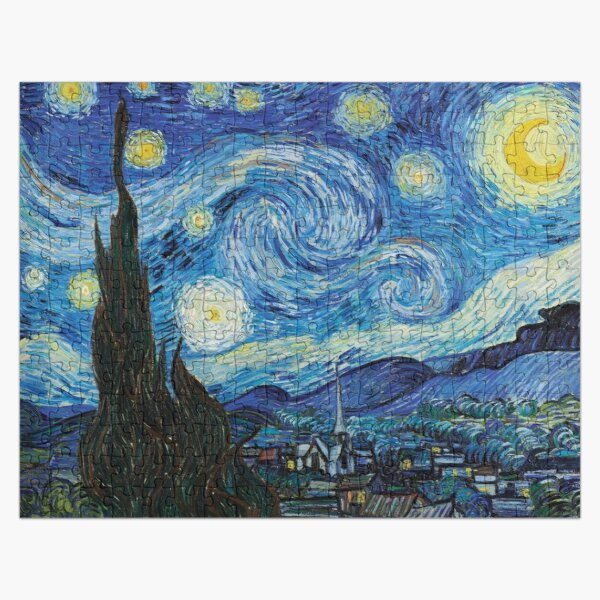 The Starry Night Jigsaw Puzzle