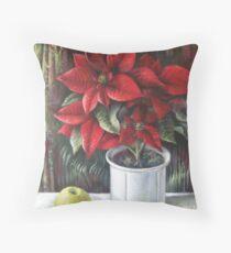Christmas colors  Throw Pillow