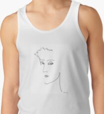 Abstract sketch of face IV Tank Top