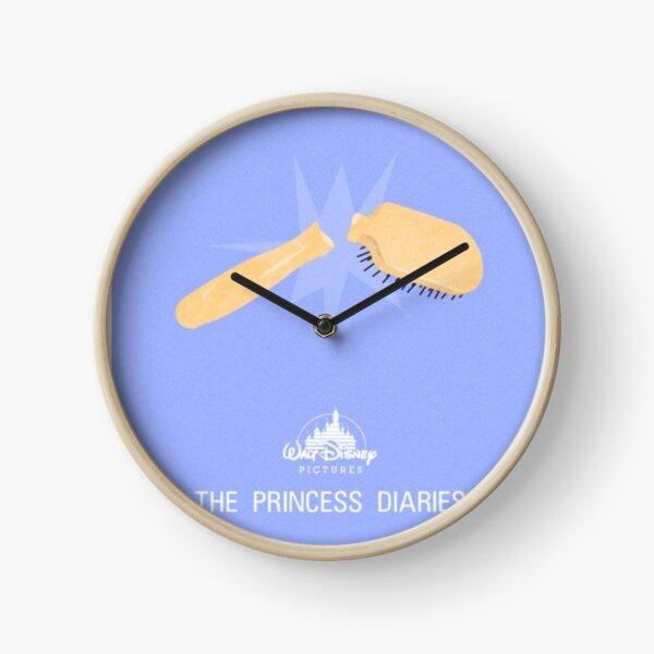 princess diaries minimal print Clock