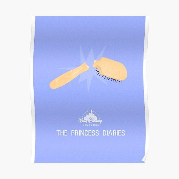 princess diaries minimal print Poster