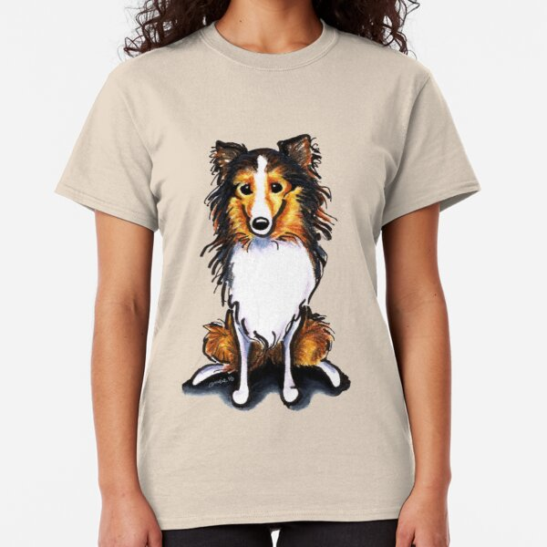 Cool Long Sleeve Shirt Two Camel Shetland Sheepdog Its A Way of Life Tee Shirt