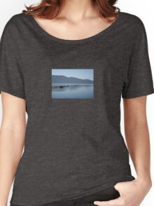 The Blue Hues of Akyaka Bay and Beyond Women's Relaxed Fit T-Shirt