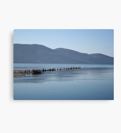 The Blue Hues of Akyaka Bay and Beyond Canvas Print