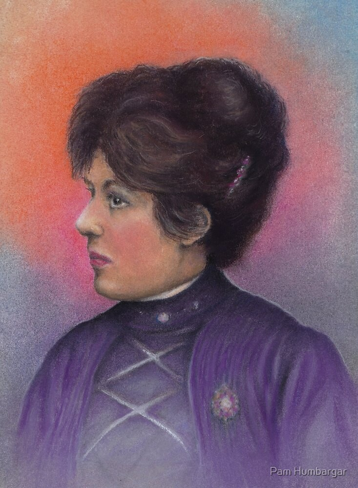 Great Grandmother Andrea by Pam Humbargar