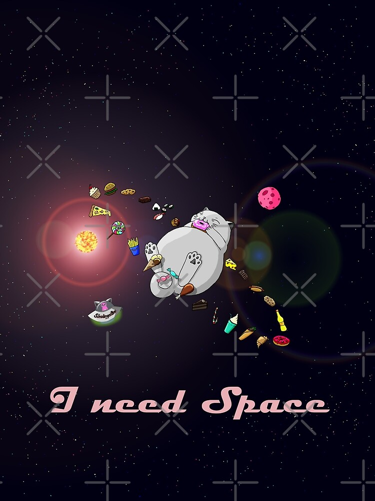 Caturn - I need Space von Boxcats