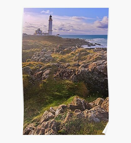 Corsewall Lighthouse Poster