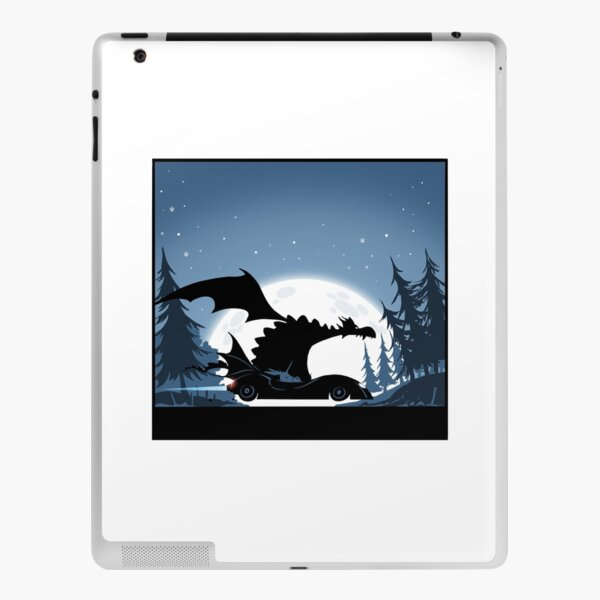 Batdragon and Doncicorn! iPad Skin