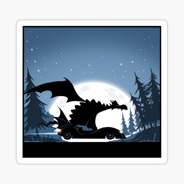 Batdragon and Doncicorn! Sticker