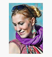 Goddess Mariah Photographic Print