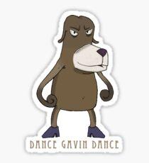 Dance Gavin Dance With Logo Sticker