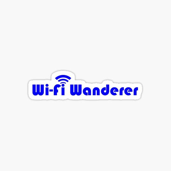 Wi-Fi Wanderer Sticker