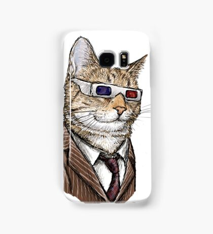 10th Doctor Mew 3D Glasses Samsung Galaxy Case/Skin