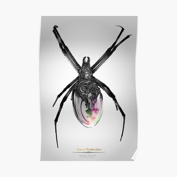 Perfume Arácnido Poster