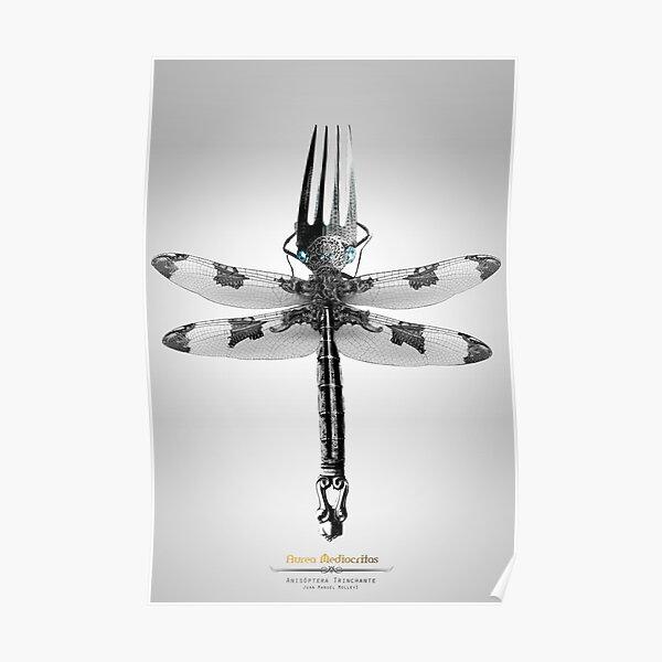 Anisóptera Trinchante Poster