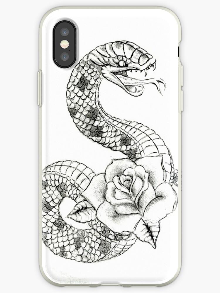 coque serpent iphone xr