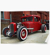 1931 Ford  Rat Rod Poster