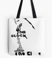 Poetic Typography Tote Bag